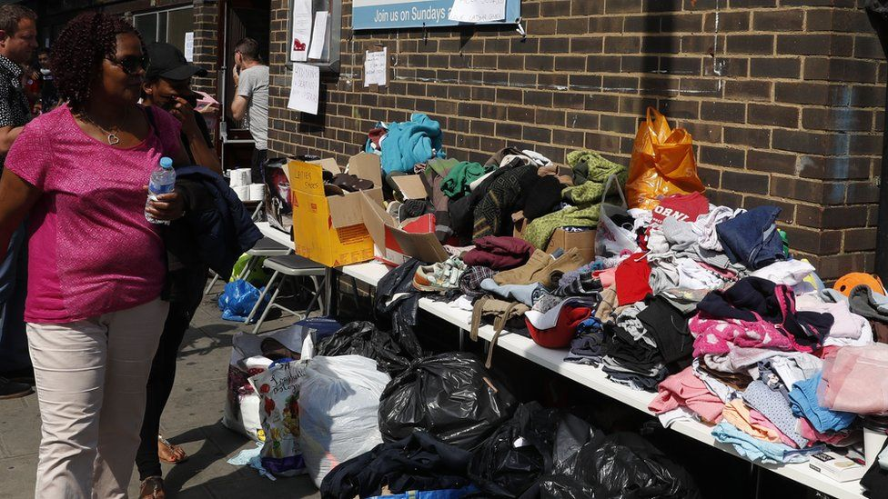 donations for grenfell tower residents