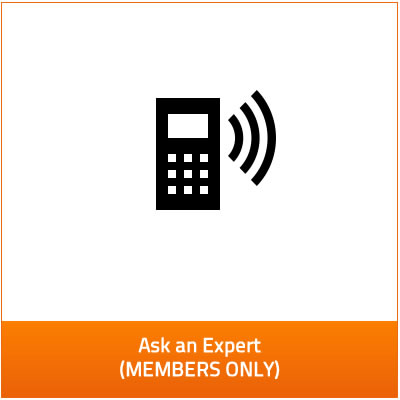 ask an expert - members only