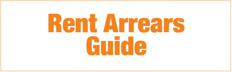 rent arrears guide button