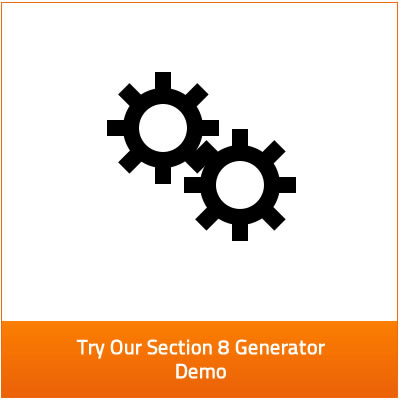 try our section 8 generator demo