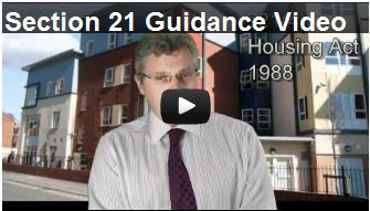 Everything you need to know about Section 21 Notices. David Williams the presenter of this 8 minutes video tutorial is a Solicitor with 20 years experience in Property Law